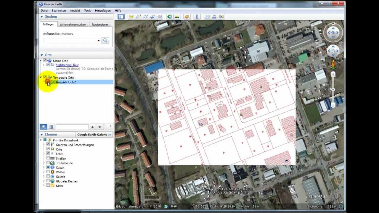 Tools for gis kml kmz google earth export mit autocad for Convert kmz to dwg