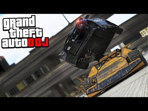GTA 5 Roleplay - DOJ 40 - Flip Car