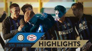 INTER 3-0 PSV | HIGHLIGHTS | Matchday 06 UEFA Youth League