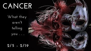 CANCER: What they aren't telling you . . . 2/5 - 2/19