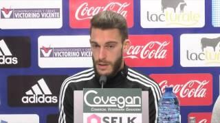 """Roberto Torres: """"Tenemos que estar muy concentrados, atentos e intensos para ganar al Huesca"""""""