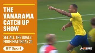 Vanarama National League Highlights Show | Matchday 20