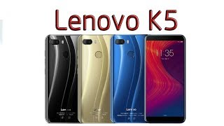 Lenovo K5 Play 4G Cellphone 3GB RAM 32GB ROM