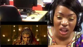 African Girl Reacts To Padmavati Official Trailer  | Ranveer Singh | Shahid Kapoor