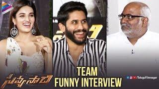Savyasachi Team FUNNY Interview | Naga Chaitanya | Nidhhi Agerwal | MM Keeravani | Telugu FilmNagar