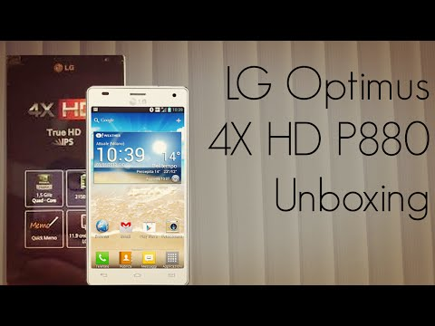 LG Optimus 4X HD P880 Unboxing - Android ICS Smart Phone Package - PhoneRadar
