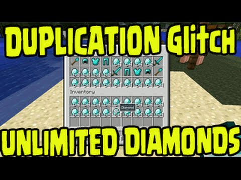 Minecraft PS3. PS4. Xbox One. Wii U - DUPLICATION UNLIMITED DIAMONDS GLITCH! Title Update TU25/TU26