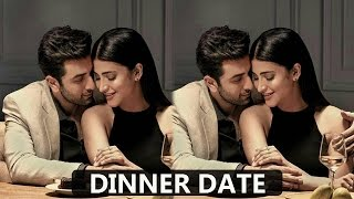 Ranbir Kapoor On A Secret Dinner Date With Shruti Hassan | Bollywood Gossip