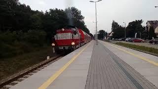 SU42 534 na stacji Jastarnia Opis