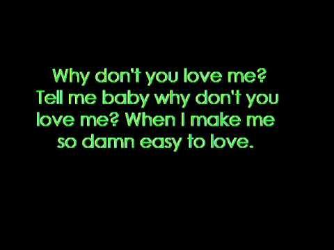 Why Don't You Love Me (Beyoncé song) - Wikipedia