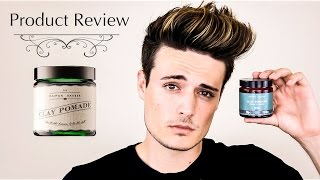 Mens Hair | Daimon Barber Clay Pomade Review - Textured Quiff