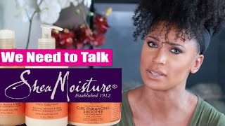 Shea Moisture Controversial Commercial | We Need to Talk