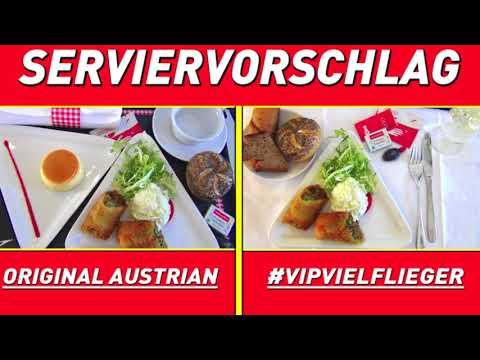 AUSTRIAN Airlines V.I.P. | NEW | BUSINESS CLASS | SERVIERVORSCHLAG | Was gefällt Dir besser?