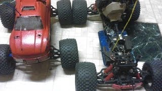 23cc 1/5 T-maxx conversion RC Weedeater/Trimmer Engine Weed-Maxx SMASHIN THE GAS