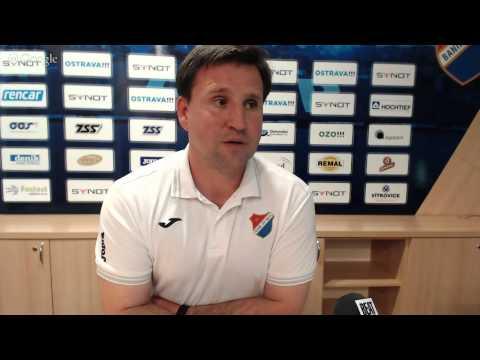 Tisková konference FC Baník Ostrava před utkáním s FK Dukla Praha