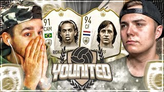 FIFA 19: YOUnited ICON PaatoFIFA vs NoHandGaming - 2.Gruppenspiel | Icon Ronaldinho vs Icon Cruyff
