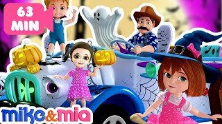Halloween Songs for Kids, Children, Toddlers   Haunted House   Best Nursery Rhymes by Mike and Mia