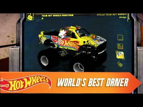 hot wheels world 39 s best driver the video game ios trailer. Black Bedroom Furniture Sets. Home Design Ideas
