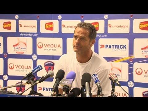 Conférence de presse Clermont Foot – Stade Lavallois (2-1) – 2013/2014