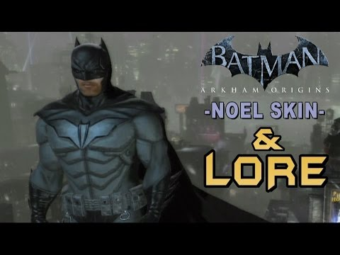Batman Noel Skin Arkham Origins Batman Arkham Origins Noel