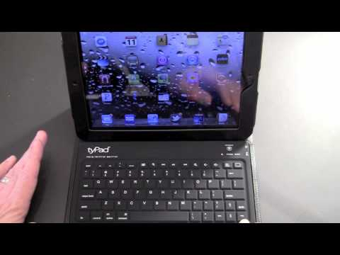 tyPad Generation 2 Bluetooth Keyboard Case for the iPad