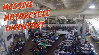 Mission Motorsports in Irvine, Ca - a Mecca for Motorcyclists