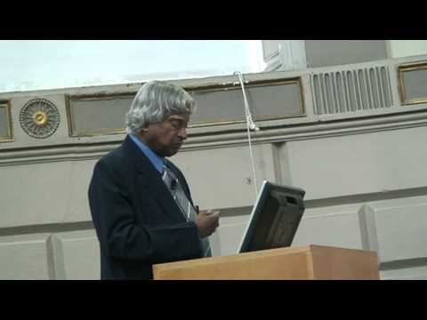 Dr Apj Abdul Kalam Speech At Trintiy College Dublin, Ireland. Part 4 7 video