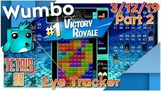 Tetris 99 Battle Royale - Wumbo 900+ Wins