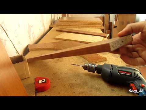 Мебельщику в помощь: Кондуктор для сверления ЛДСП