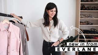New in from Everlane: Try-On Haul & How to Style - September 2019 | Mademoiselle [AD]