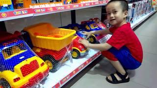 Siêu Nhân Người Nhện đi siêu thị mua đồ chơi trẻ em