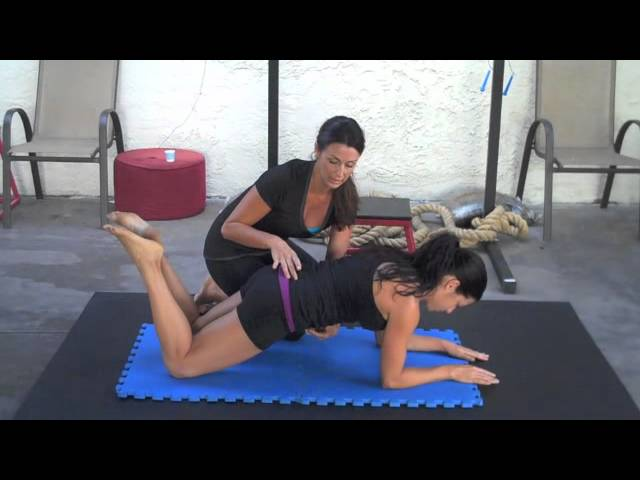 Mini Plank - Core Muscle Activation Isometric