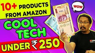 Top Tech Gadgets Under Rs.250  - you can buy from AMAZON India