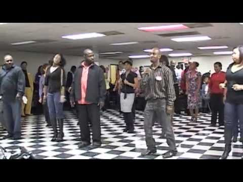 Jamie Foxx Line Dance Charlotte Syle video