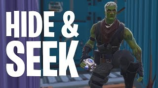 HIDE & SEEK #11 MINI-GAME!  - Fortnite: Battle Royale Playground (Nederlands)
