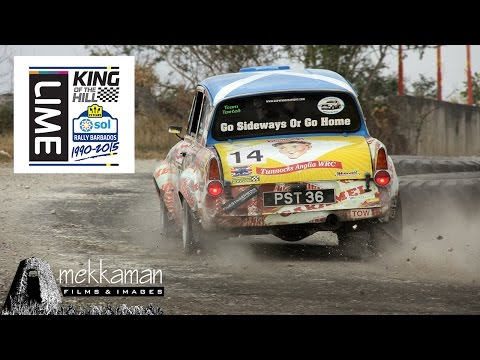 Rally Barbados 2015 - King of the Hill