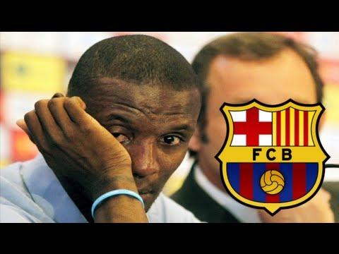 Eric Abidal Exits Barcelona