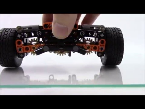 Lego Technic Independent Rear Suspension - 13 Studs Wide