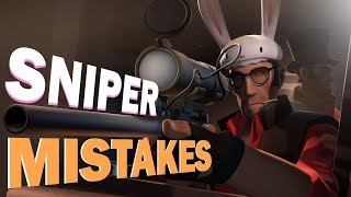TF2 - 11 Sniper mistakes You should never make!