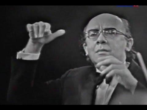 Gennady Rozhdestvensky conducts Prokofiev Symphony no. 5 - video 1975