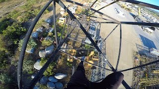 I JUST CLIMBED A CRANE... **FIRST TIME EVER**