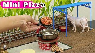Mini Pizza | Pizza Recipe | Mini Foodkey | Mini Food