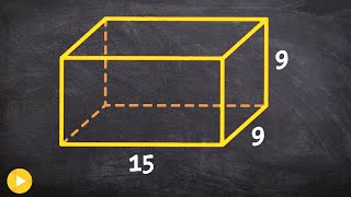Finding the surface area of a rectangular prism