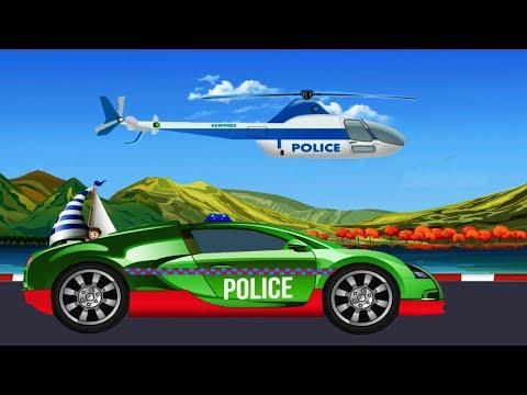 Police Car Mechanic 2/4 | Police Car | Police Car Repair | Car Garage | Car Repair | kids videos