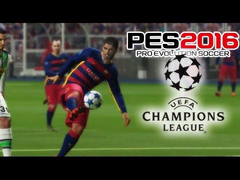 Han Eliminado a los Mejores de la UEFA Champions League - PES 2016