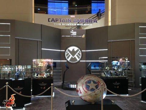 Hot Toys Captain America The Winter Soldier Hong Kong Exhibition Display