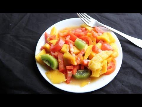Mango Fruit Salad Recipe (9.25.12 - Day 44) Vegan, Vegetarian