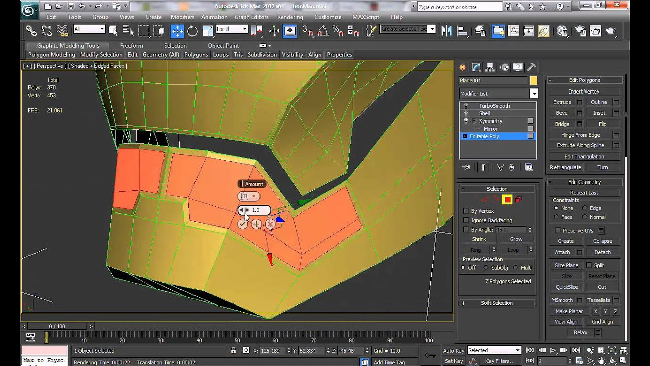 Helmet Tutorial 3ds Max Helmet in 3ds Max Part 1