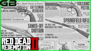 Red Dead Redemption 2 Weaponry