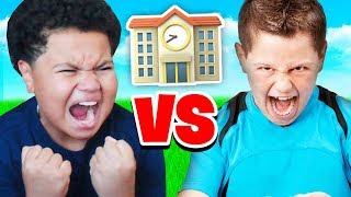 FaZe Kaylen Vs BEST KID IN HIS *NEW* SCHOOL!! (EXTREME FORTNITE 1V1 TRASH TALKING)